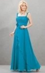 Take 30% OFF on Column Straps Ruched Bridesmaid Dress.