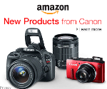 Amazon Camera - New Products from Cannon!