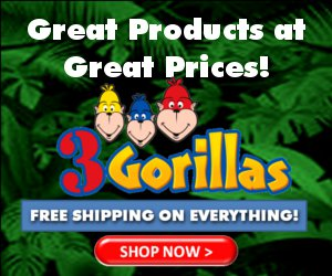 logo of 3Gorillas.com