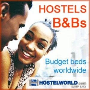 logo of Hostelworld