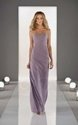 47% OFF For Elegant Column Strapless Lace-up Chiffon Bridesmaid Dress!!