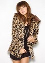 30% OFF on Pretty Leopard Print Wool Fashion Style Open Collar Long Sleeve Jackets.