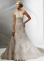 51% OFF For Tulle Lace Chapel Train Sweetheart Fit-and-flared Wedding Dress!
