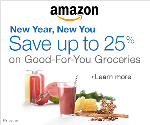 Up to 25% Off Good-For-You Groceries!!