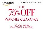 Holiday Clearance! Up to 75% Off Select Watches.