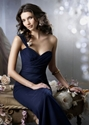 Only $39.99 For Empire One-shoulder Floor-length Chiffon Bridesmaid Dress.