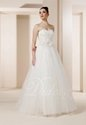 45% OFF Elegant A-line Sweetheart Court Train Tulle Wedding Dress