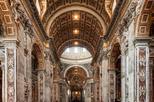 Save 10%: Skip the Line: St Peter's Basilica Walking Tour Including Vatican Mosaic Studio