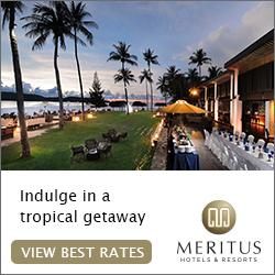 logo of Meritus Hotels & Resorts