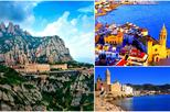 Save 10%! Montserrat and Sitges Full Day Guided Tour