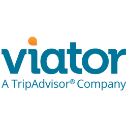 logo of Viator in English