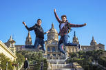 Save 15%! Panoramic Montjuic Mountain Private Gay Walking Tour with Castle Entrance